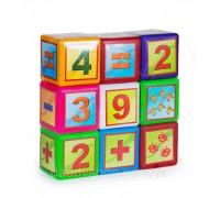 Кубики Математика 9б 020/3
