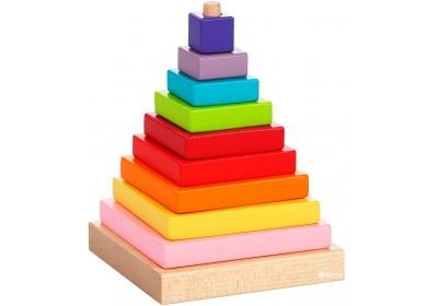Деревянная пирамида LD-5 12329
