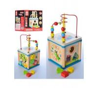 Деревянная игрушка Мультикуб MD 0995