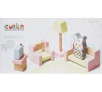 Набор деревянной мебели Cubika 4 Гостинная 15030