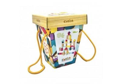 Конструктор деревянный Cubika  15191 50 деталей