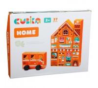 Конструктор деревянный Домик Cubika LDK5 15153