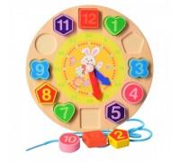 Деревянная игрушка Часы MD1270