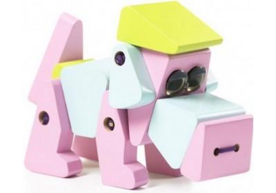 Деревянная игрушка Собака LA-1 11858