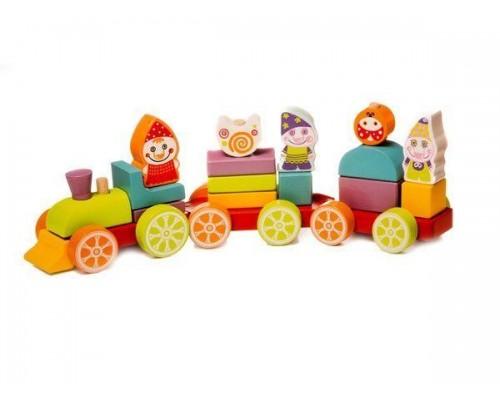 Деревянный поезд Сокровища гномов LP-4 12930