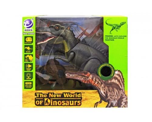 Динозавр интерактивный р/у 9986