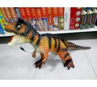 Динозавр большой резиновый со звуком 80 см хищник