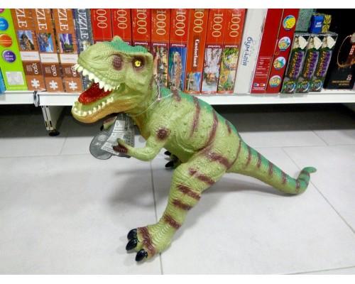 Динозавр большой резиновый со звуком 76 см