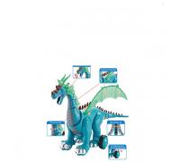 Динозавр интерактивный 1018А 2 цвета