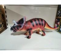 Динозавр большой резиновый 2608-03 50 см