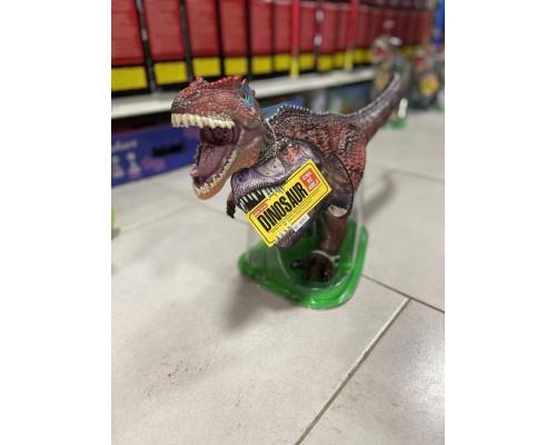 Динозавр большой резиновый 001