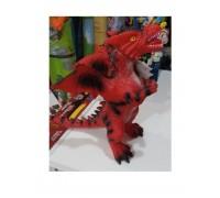 Дракон со звуковыми эффектами 35 см красный