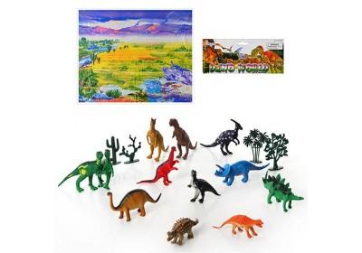 Набор животных Динозавры 28212 штук