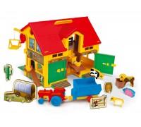Дом для кукол Ферма Wader 25450