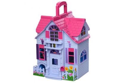 Дом для кукол раскладной F611