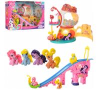 Игровой набор Домик с горкой My little pony 755