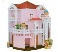 Домик для кукол Happy Family трехэтажный 1513