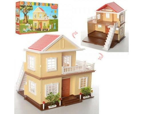 Домик для кукол Happy Family двухэтажный 1514
