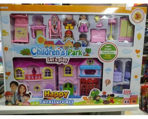 Дом для кукол My happy family 8146-1