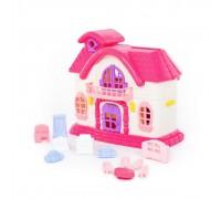 Кукольный домик Polesie Сказка с набором мебели 78261