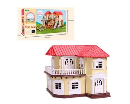 Домик для кукол Happy Family двухэтажный S-01