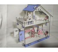 Эко дом для кукол LOL ЛОЛ с мебелью