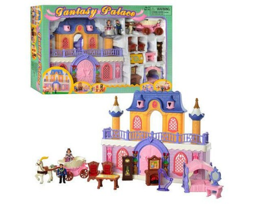 Замок для кукол музыкальный со светом Keenway 20160