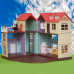 Дом для зайчиков Happy family 012-10