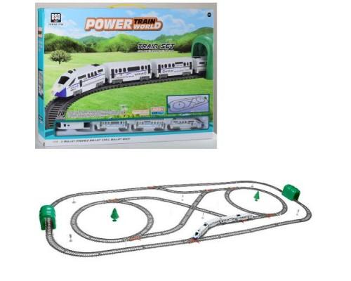 Железная дорога со звуком и светом 2186
