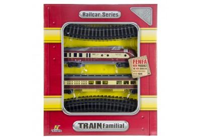 Железная дорога со звуком и светом Fenfa 1601B-5B