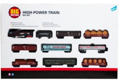 Железная дорога с 9 вагонами Big Motors 19033-8