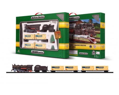 Железная дорога со звуком и светом Fenfa 1601A-4C