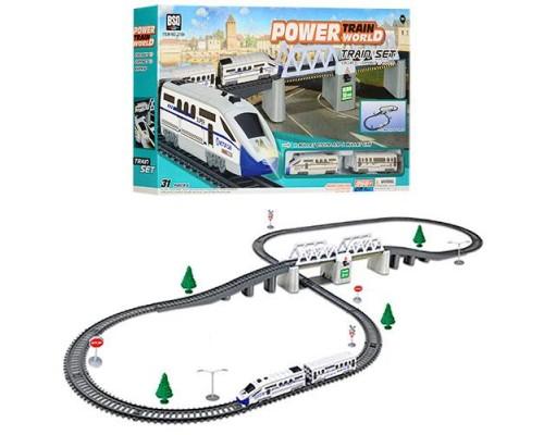 Железная дорога со звуком и светом 2184 366 см