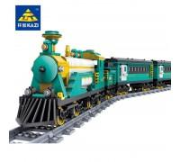 Железная дорога с конструктором Kazi 98225