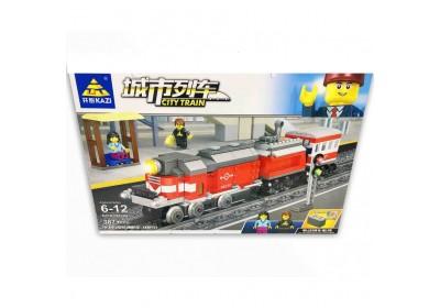 Железная дорога с конструктором Kazi 98240