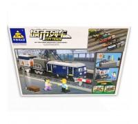 Железная дорога с конструктором Kazi 98242