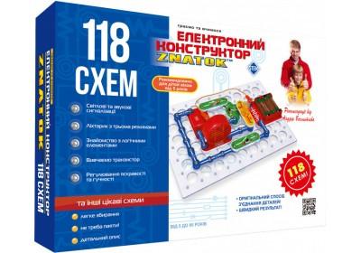 Электронный конструктор Знаток 118 схем 70820