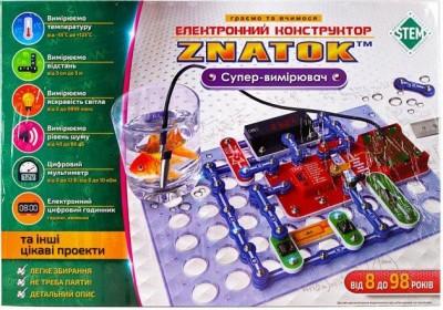 Конструктор Знаток Супер-измеритель 17 проектов ZP70694