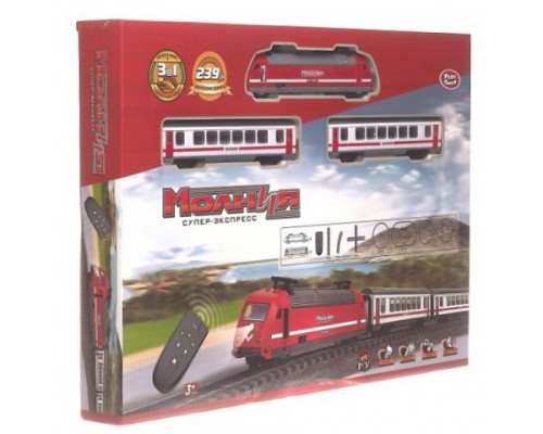 Железная дорога Молния 9712-2А на радиоуправлении
