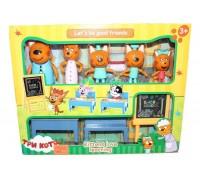 Игровой набор Три кота M-8812 Школа