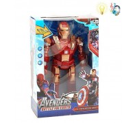 Супергерой Железный человек ходит 30 см