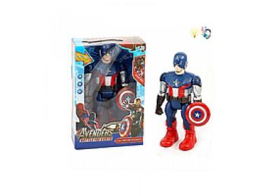 Супергерой Капитан Америка ходит 30 см