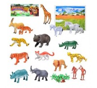 Набор дикие животные 581 (18 в комплекте)