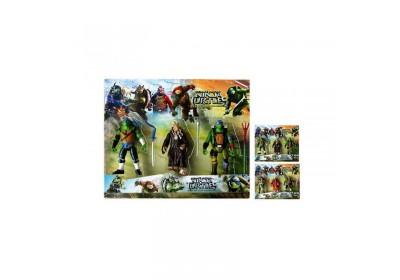 Игровые фигурки Черепашки Ниндзя  LB55025