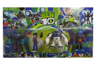 Набор фигурок Ben 10 4 шт, 3 вида