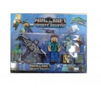 Набор героев фигурки Minecraft 19006 4 вида