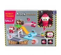Паркинг Роботы Поезда + трансформер Selly SZ-827C