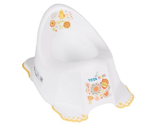 Горшок детский Tega Baby антискользящий FOLK Fl-001 3 цвета