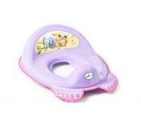 Детская накладка на унитаз Tega baby Сафари фиолетовая SF-012-128