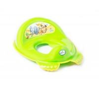 Детская накладка на унитаз Tega baby Сафари зеленая SF-012-125